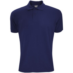 Vêtements Homme Polos manches courtes Sg Polycotton Bleu marine