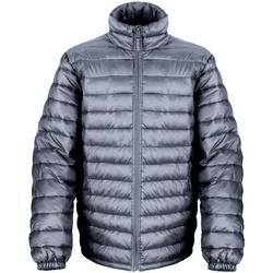 Vêtements Homme Doudounes Result Windproof Gris