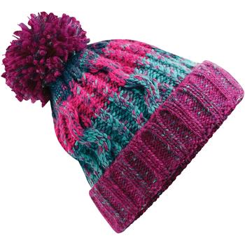 Accessoires textile Bonnets Beechfield Pom Pom Baies d'hiver