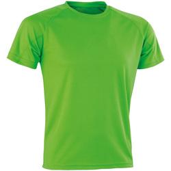 Vêtements Homme T-shirts manches courtes Spiro Aircool Vert citron