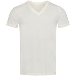 Vêtements Homme T-shirts manches courtes Stedman Stars Organic Blanc/Beige