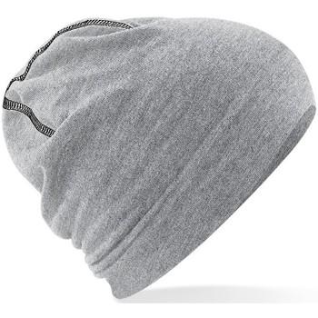 Accessoires textile Homme Bonnets Beechfield Hemsedal Gris chiné/Noir