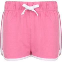 Vêtements Enfant Shorts / Bermudas Skinni Fit Retro Rose/blanc
