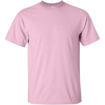 Vêtements Homme T-shirts manches courtes Gildan Ultra Rose clair