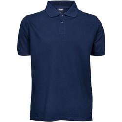 Vêtements Homme Polos manches courtes Tee Jays Pique Bleu marine