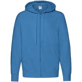 Vêtements Homme Sweats Fruit Of The Loom 62144 Bleu azur