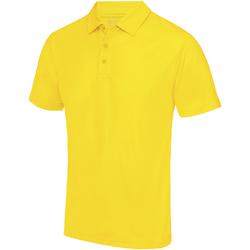 Vêtements Homme Polos manches courtes Awdis JC040 Jaune soleil