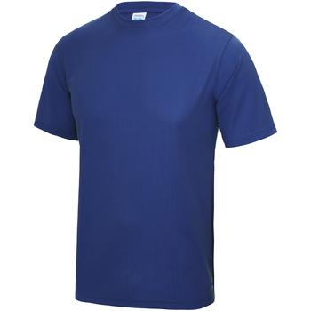 Vêtements Enfant T-shirts manches courtes Just Cool JC01J Bleu roi