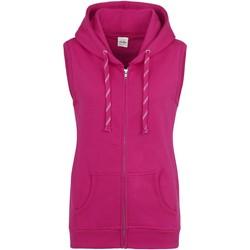 Vêtements Femme Gilets / Cardigans Awdis JH57F Rose