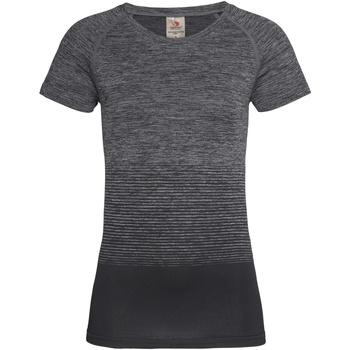 Vêtements Femme T-shirts manches courtes Stedman Active Gris foncé