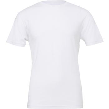 Vêtements Homme T-shirts manches courtes Bella + Canvas Jersey Blanc
