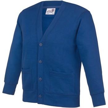 Vêtements Enfant Gilets / Cardigans Awdis Academy Bleu roi profond