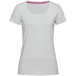 Vêtements Femme T-shirts manches courtes Stedman Stars Claire Bleu pâle