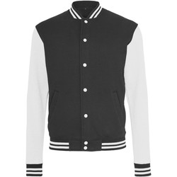 Vêtements Homme Blousons Build Your Brand College Noir / Blanc