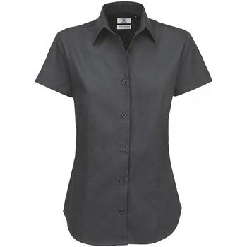 Vêtements Femme Chemises / Chemisiers B And C SWT84 Gris foncé