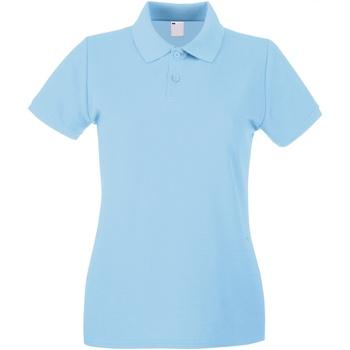 Vêtements Femme Polos manches courtes Universal Textiles Casual Bleu clair
