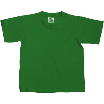 Vêtements Enfant T-shirts manches courtes B And C Exact Vert bouteille
