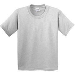Vêtements Enfant T-shirts manches courtes Gildan 5000B Gris cendre