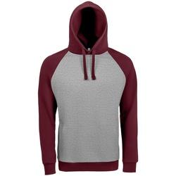 Vêtements Sweats Sols 02998 Gris/Bordeaux