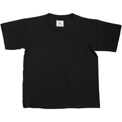 Vêtements Enfant T-shirts manches courtes B And C Exact Noir
