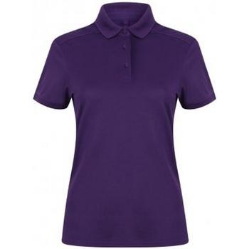 Vêtements Femme Polos manches courtes Henbury Pique Violet