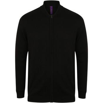Vêtements Gilets / Cardigans Henbury HB718 Noir