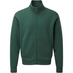 Vêtements Homme Gilets / Cardigans Russell Authentic Gilet zippé RW5509 Vert bouteille