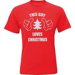 Vêtements Homme T-shirts manches courtes Christmas Shop Christmas Rouge