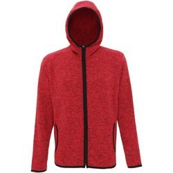 Vêtements Homme Polaires Tridri Melange Rouge/Noir chiné