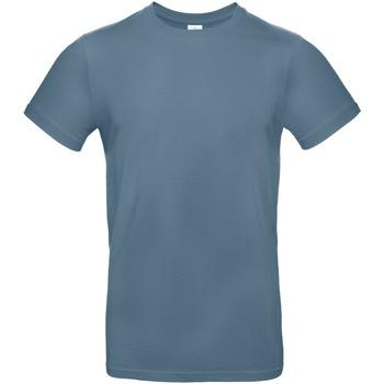 Vêtements Homme T-shirts manches courtes B And C E190 Bleu charron