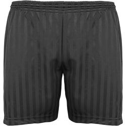 Vêtements Enfant Shorts / Bermudas Maddins Stripe Noir