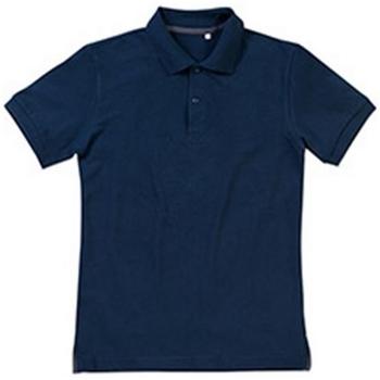 Vêtements Homme Polos manches courtes Stedman Stars Henry Bleu Foncé