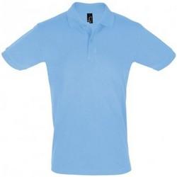Vêtements Homme Polos manches courtes Sols Pique Bleu ciel