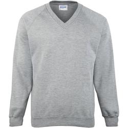Vêtements Enfant Sweats Maddins Coloursure Gris Oxford