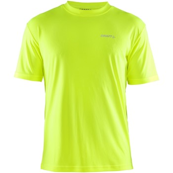 Vêtements Homme T-shirts manches courtes Craft Wicking Jaune fluo
