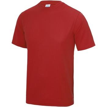 Vêtements Homme T-shirts manches courtes Awdis Performance Rouge feu