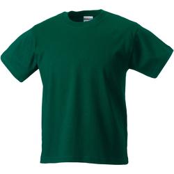 Vêtements Enfant T-shirts manches courtes Jerzees Schoolgear Classics Vert bouteille