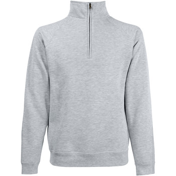 Vêtements Homme Sweats Fruit Of The Loom 62114 Gris chiné