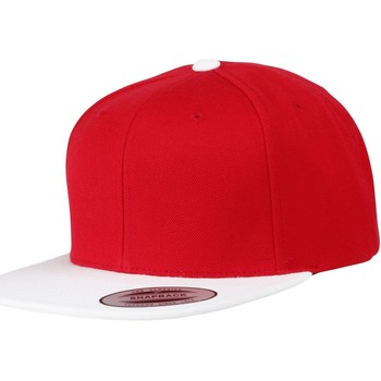 Accessoires textile Casquettes Yupoong YP010 Rouge/Blanc