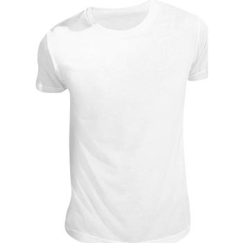 Vêtements T-shirts manches courtes Sols Sublima Blanc