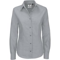 Vêtements Femme Chemises / Chemisiers B And C Oxford Lune argentée