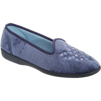 Chaussures Femme Chaussons Sleepers Embroidered Bleu