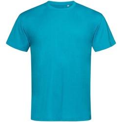 Vêtements Homme T-shirts manches courtes Stedman Active Bleu