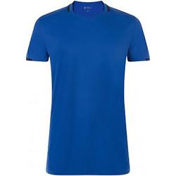 Vêtements Homme T-shirts manches courtes Sols 01717 Bleu roi/Bleu marine