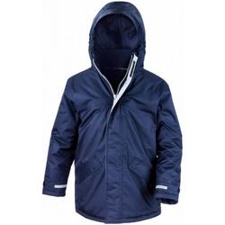 Vêtements Enfant Parkas Result Parka Bleu marine