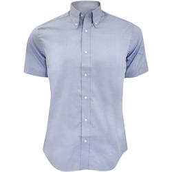 Vêtements Homme Chemises manches courtes Kustom Kit KK187 Bleu clair