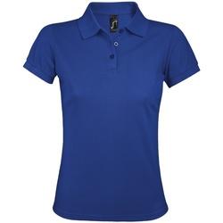 Vêtements Femme Polos manches courtes Sols Prime Bleu roi