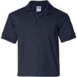 Vêtements Enfant Polos manches courtes Gildan 8800B Bleu marine