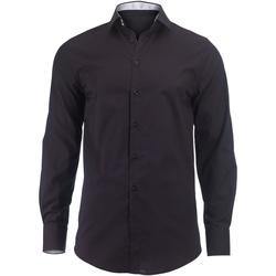 Vêtements Homme Chemises manches longues Alexandra Hospitality Noir/Blanc