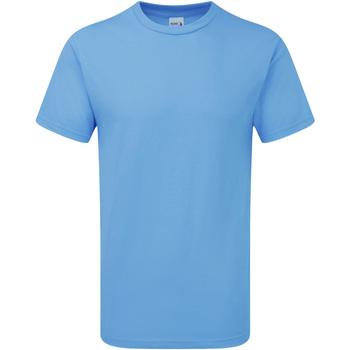 Vêtements Homme T-shirts manches courtes Gildan H000 Bleu